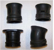 NGSXR Throttle Body Rubber Velocity  Stacks. OEM used.