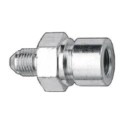 AN3 Male - 24IFF Female fitting. Steel