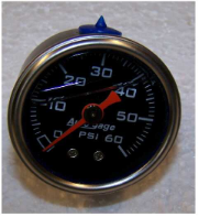 Fuel Pump Regulator Gauge Aeromotive