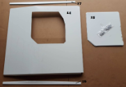 2013-17 Roof Hatch with Hinge