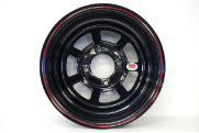 13 x 7 x 4 Backspace Tru Black Rim Rolled Lip