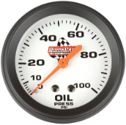 Oil Pressure Gauge Quick car brand  W/ Lights