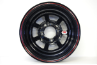 13 x 7 X 1.75 Backspace Tru Black Rim Rolled Lip