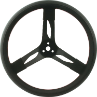 Steering Wheel Quick car 15 Inch 2.5 dished